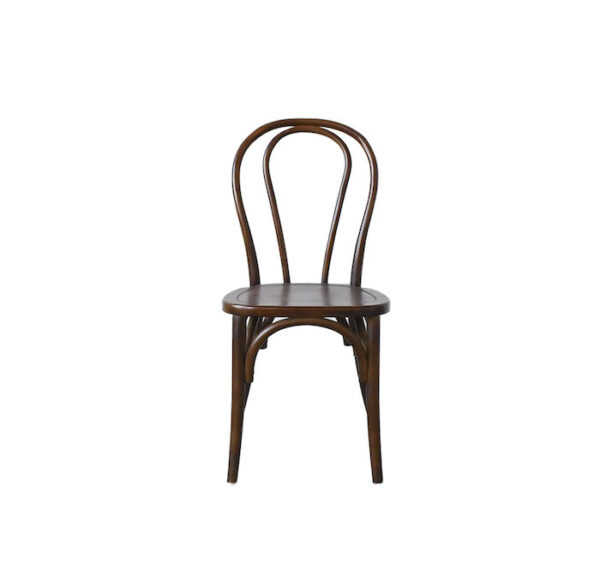 solid wood bentwood dining chair